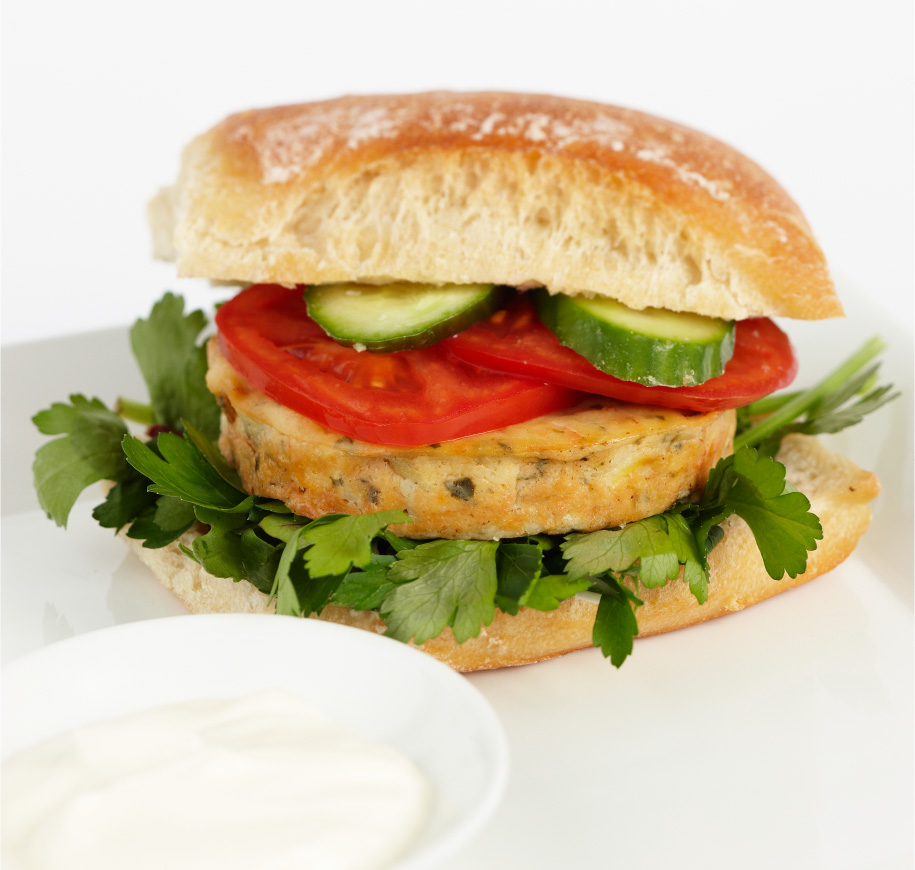 vegetable-burger